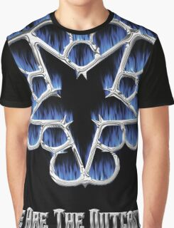 Fiery Chrome Black Veil Brides Star - We Are The Outcasts Graphic T-Shirt