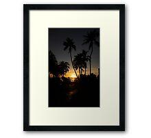 Beach Life Framed Print