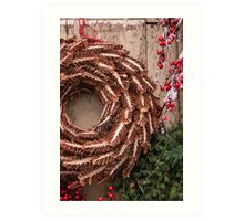 Christmas Wreaths Art Print