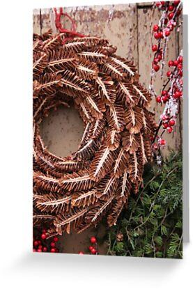 Christmas Wreaths by Jeanne Horak-Druiff