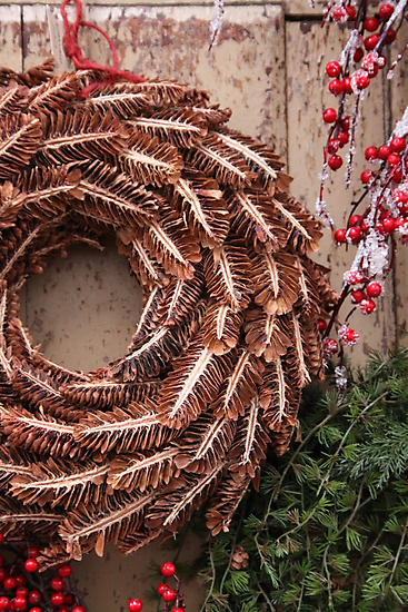 Christmas Wreaths by Jeanne Horak-Druiff