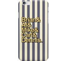The Beach Boys- Brian&Al&Mike&Carl&Dennis iPhone Case/Skin