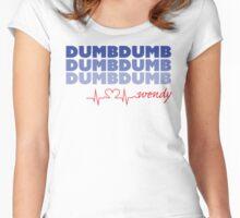 Red Velvet Wendy Dumb Dumb Women's Fitted Scoop T-Shirt