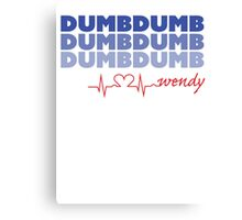 Red Velvet Wendy Dumb Dumb Canvas Print