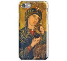 OUR MOTHER OF PERPETUAL HELP iPhone Case/Skin