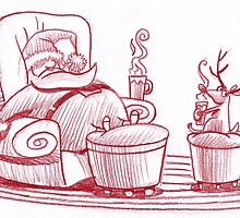 A rest before Christmas by Mike Cressy