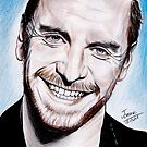 Michael Fassbender - smile ! by jos2507