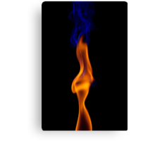 Fire Lady Canvas Print