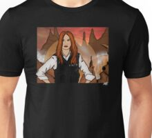 Amy Pond & Gallifrey V2 Unisex T-Shirt