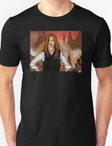 Amy Pond & Gallifrey V2 T-Shirt
