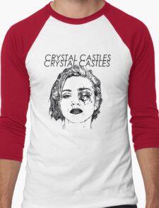 Crystal Castles Shirt RETRO Men's Baseball ¾ T-Shirt