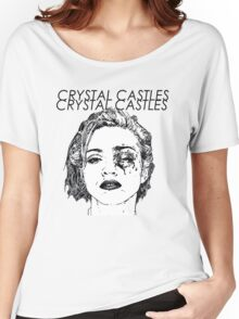 Crystal Castles Shirt RETRO Women's Relaxed Fit T-Shirt