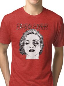 Crystal Castles Shirt RETRO Tri-blend T-Shirt
