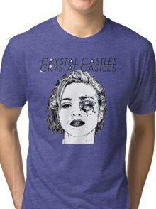 Crystal Castles Shirt RETRO Tri-blend T-Shirt