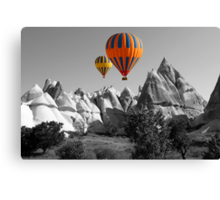 Hot Air Balloons Over Capadoccia Turkey - 5 Canvas Print
