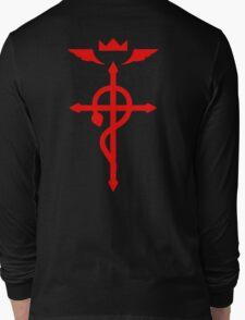 fullmetal alchemist edward elric symbol anime manga shirt Long Sleeve T-Shirt
