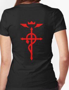 fullmetal alchemist edward elric symbol anime manga shirt Womens Fitted T-Shirt