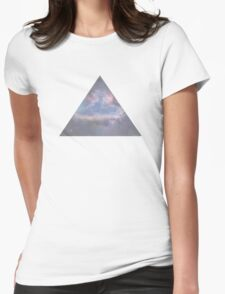 Trippy Triangle Retro Shirt Womens Fitted T-Shirt