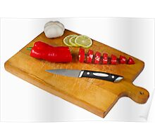 Chopping Board Poster