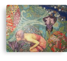 Echo in The Wildwood Canvas Print