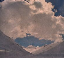 Clouds Weather, Bergalga, Juf, Switzerland by itchingink