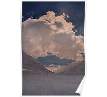 Clouds Weather, Bergalga, Juf, Switzerland Poster