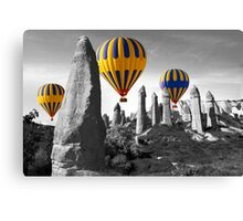 Hot Air Balloons Over Capadoccia Turkey - 8 Canvas Print