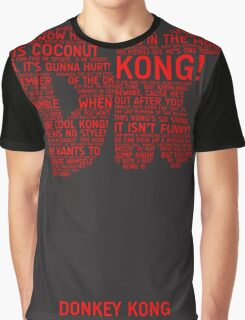 Donkey Kong Poster Graphic T-Shirt