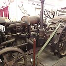 Old tractor Zara Clark Musuem Charters Towers Queensland by myhobby