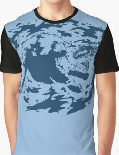 Water Based Ink Graphic T-Shirt