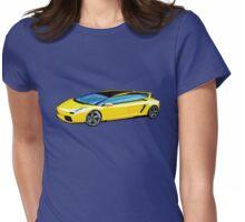 Lamborghini Gallardo Estate Wagon Deluxe Womens Fitted T-Shirt