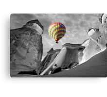 Hot Air Balloons Over Capadoccia Turkey - 10 Canvas Print