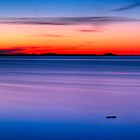Minimal Sunset by Gert Lavsen