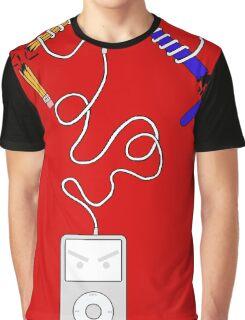 Evil iPod  Graphic T-Shirt