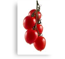 Hanging Tomato Truss Canvas Print