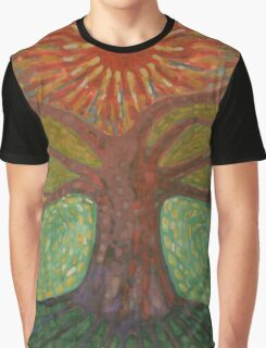 Sun And Tree Graphic T-Shirt