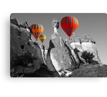 Hot Air Balloons Over Capadoccia Turkey - 11 Canvas Print