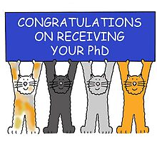 Congratulations on receiving your PhD. by KateTaylor