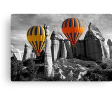 Hot Air Balloons Over Capadoccia Turkey - 12 Canvas Print