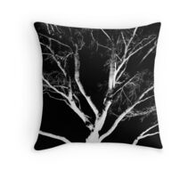 Bleached and Bare Throw Pillow
