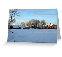 An afternoon in the country Greeting Card