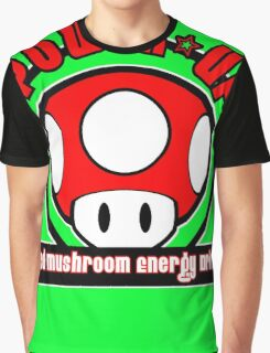 Power-Up Energy Drink 2 Graphic T-Shirt