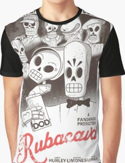 Rubacava (White) Graphic T-Shirt