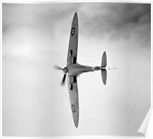 Spitfire display Poster