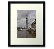 The Eye on the Thames Framed Print