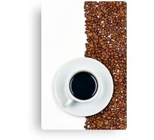 Coffee Flag Canvas Print