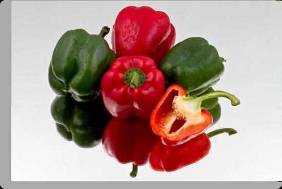 Bell Peppers by Gert Lavsen