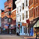 Main Street ~ Galena, Illinois by Nadya Johnson