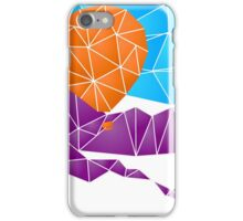 Balloon over the Rockies iPhone Case/Skin