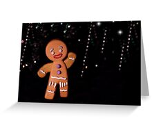 Gingy Greeting Card